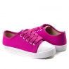 Tênis Lona Infantil Feminino Molekinha - Pink/branco
