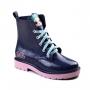 Bota Lol Infantil Feminino Grendene - Azul glitter/rosa