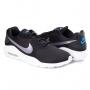 Tênis Masculino Air Max Oketo Nike - Black/mtlc grey-laser blue-w