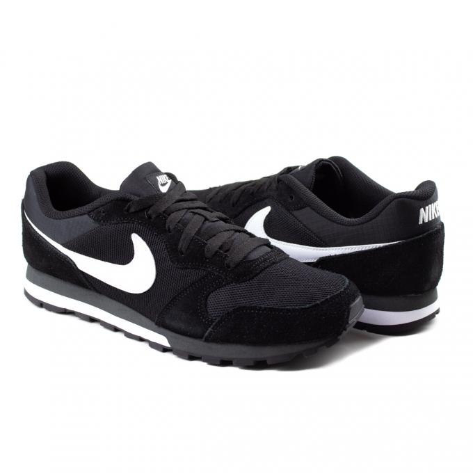 Tênis Masculino MD Runner 2 Nike - Preto/branco