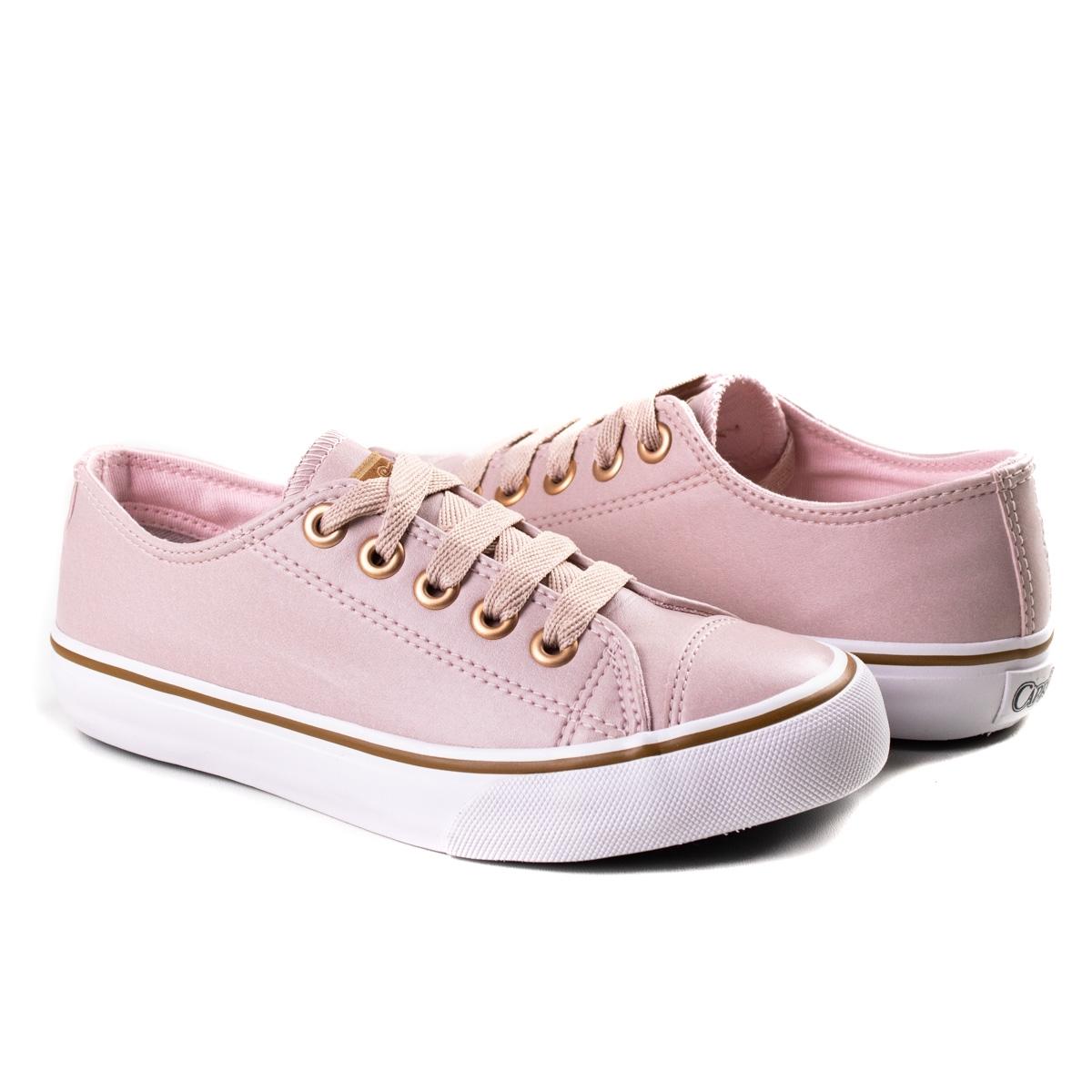 Tênis Feminino Like Class Capricho - Rose/cobre
