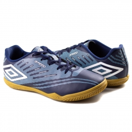 Tênis Indoor Infantil Speed IV JR Umbro - Marinho/azul
