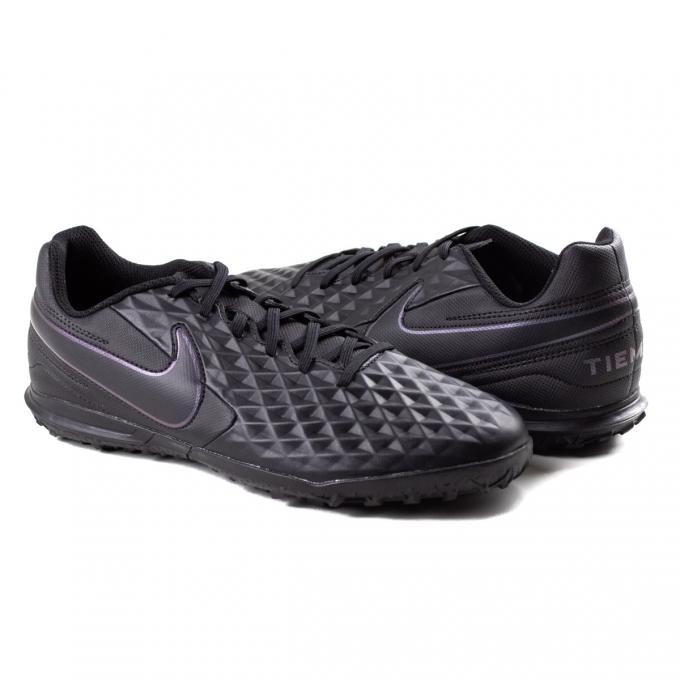 Chuteira SocietyTiempo Legend 8 TF Nike - Black/black