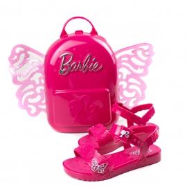 Sandália Barbie Butterfly Infantil Feminino Grendene - Rosa/pink