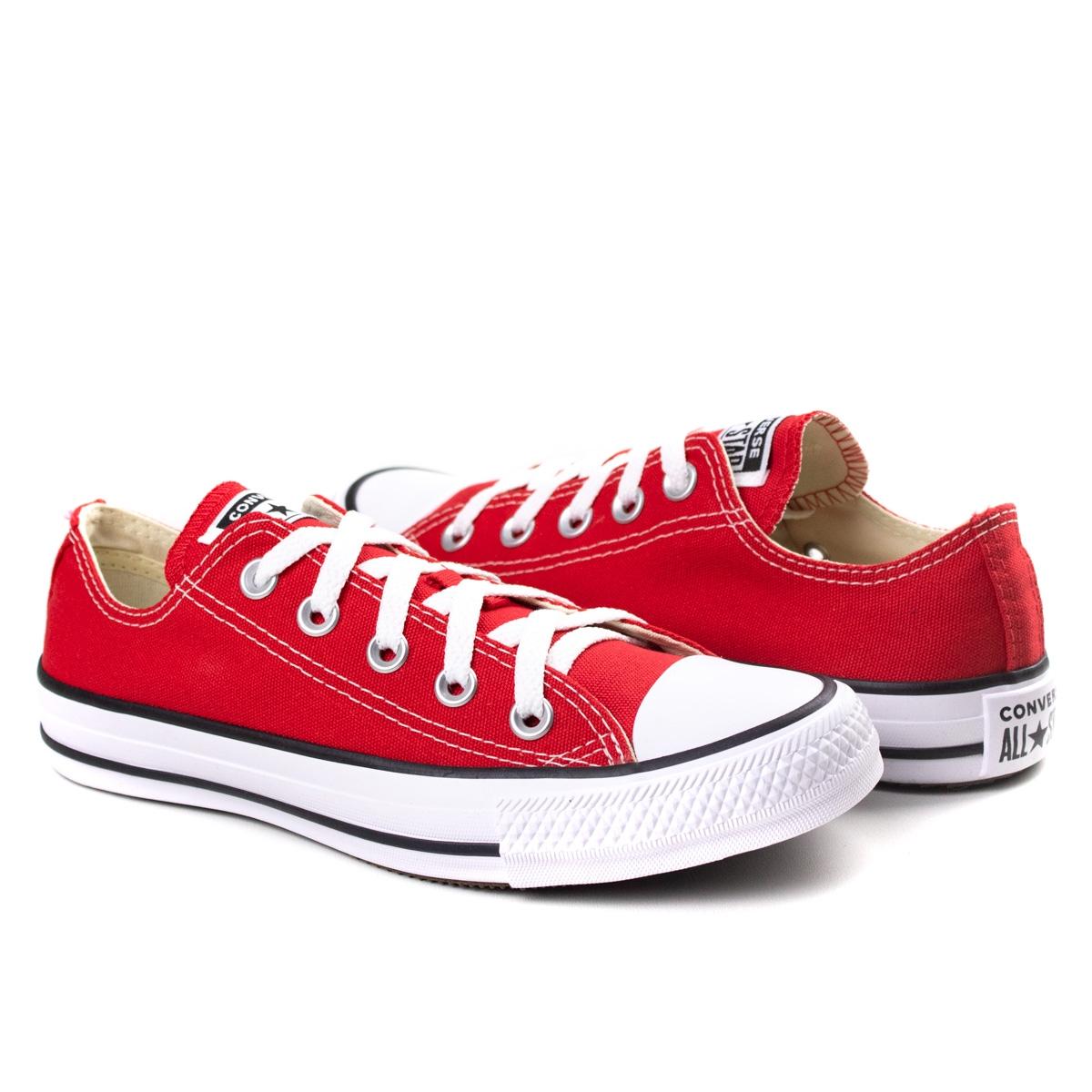 Tênis BasicAll Star Converse - Vermelho