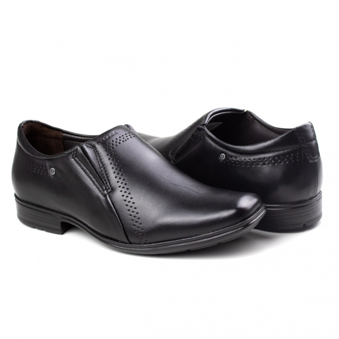 Sapato Masculino Pegada - Preto
