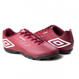 Chuteira Society Speed Umbro - Vinho/toread