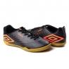Tênis Indoor Speed Masculino Umbro - Preto/grafite/coral