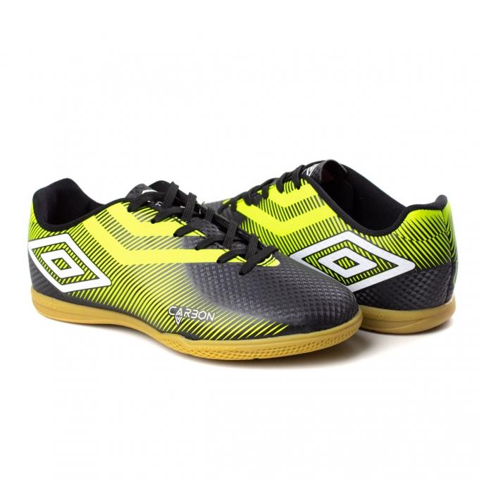 Tênis Indoor Carbon Umbro - Preto/verde