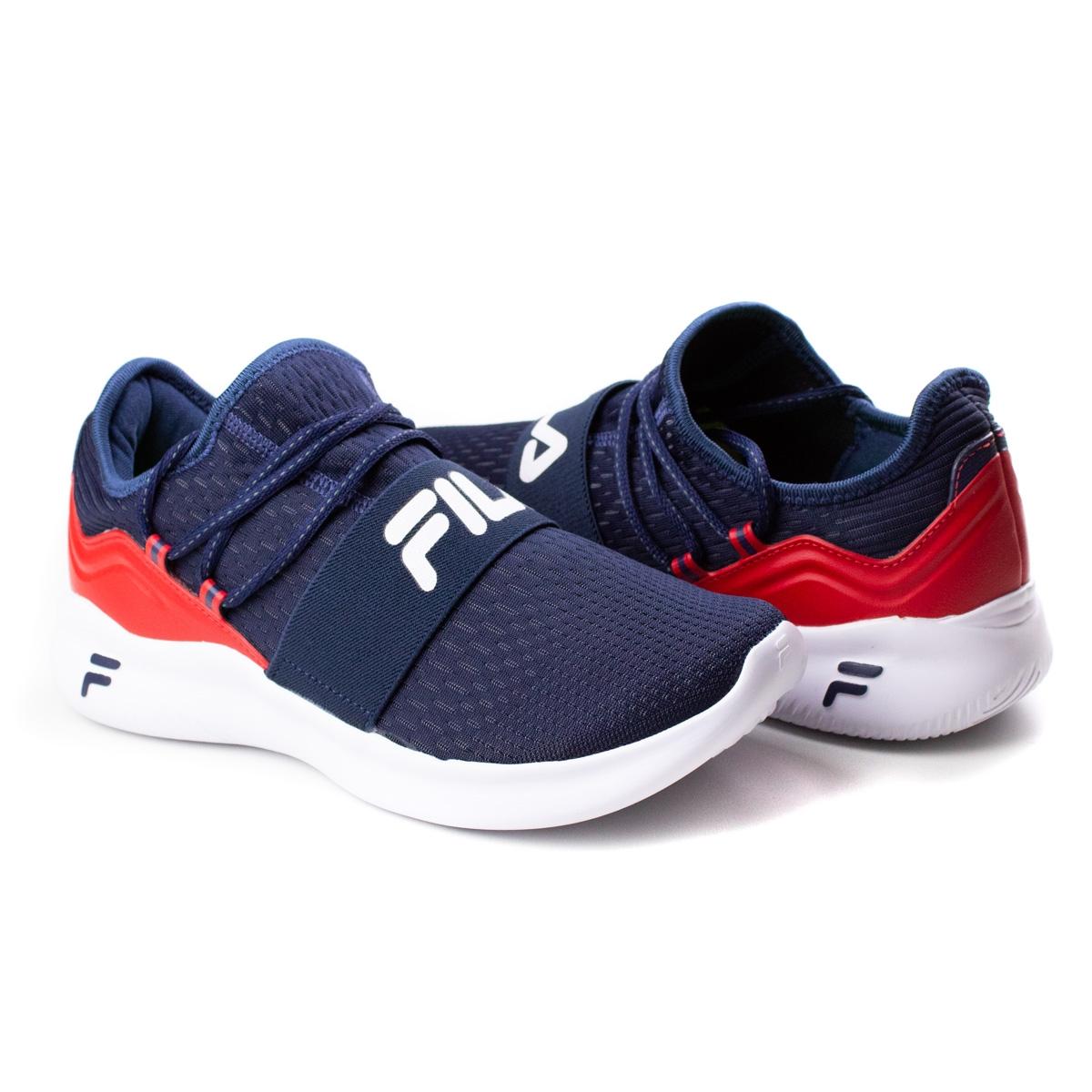 Tênis Masculino Trend Fila - Marinho/vermelho/branco