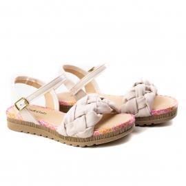 Sandália Trice Infantil Pink Cats - Amarula