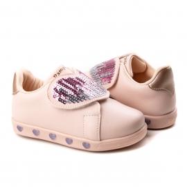 Tênis Bebê Sneaker Luz Pampili - Rosa novo