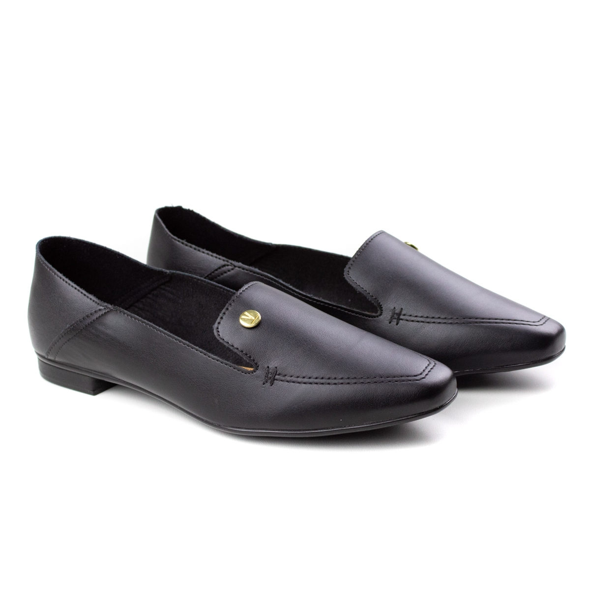 Sapato Rasteiro Feminino Vizzano - Preto