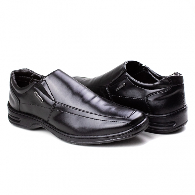 Sapato Esporte Soft Masculino Franshoes - Preto