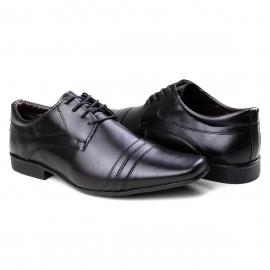 Sapato Veneza Masculino Franshoes - Preto