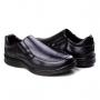 Sapato Anatômico Masculino Franshoes - Preto