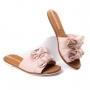 Tamanco Floral Feminino Moleca - Multi rosa