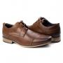 Sapato Derby Masculino Ferracini - Havana