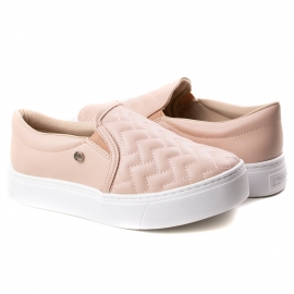 Tênis Slip On Feminino Via Marte - Soft rose