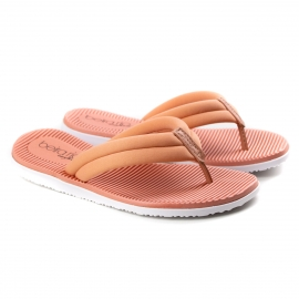 Tamanco Dedo Confort Feminino Beira Rio - Light blush