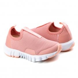 Tênis Jump Bebê Feminino Klin - Coral