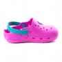 Crocs Óculos Infantil Feminino Pé Com Pé - Pink/turquesa