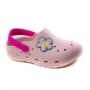 Crocs Flor InfantilFeminino Pé Com Pé - Rosa/pink