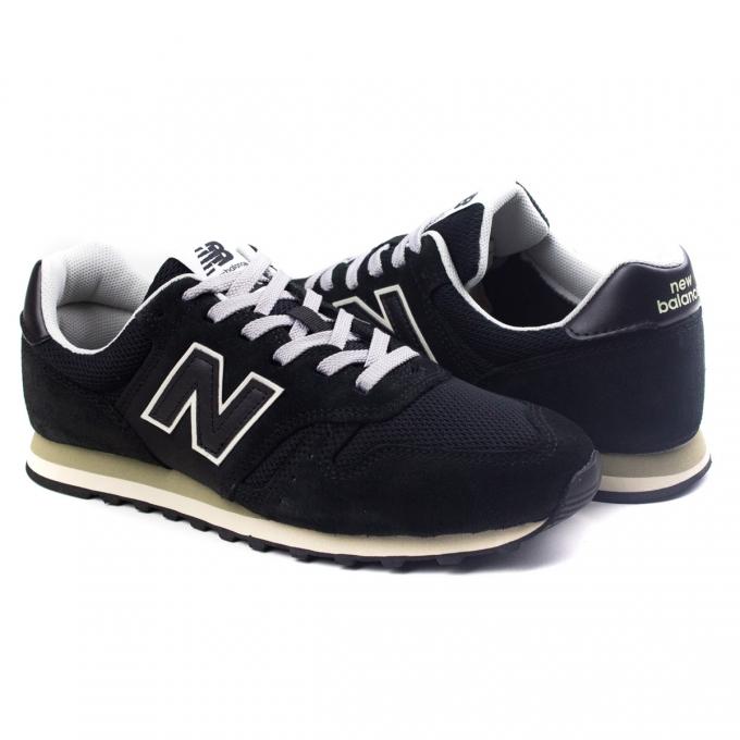 Tênis 373 Masculino New Balance - Preto/branco