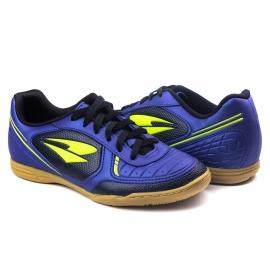Tênis Indoor Futsal Masculino Dray - Marinho/verde limao