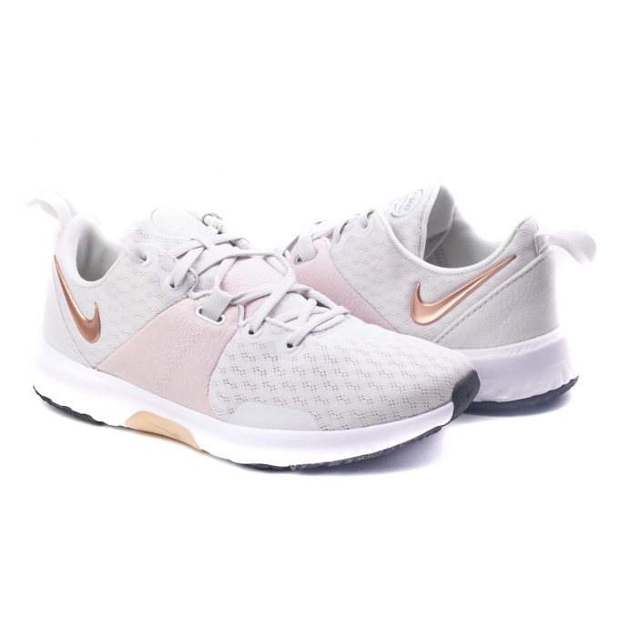 Tênis City Trainer 3 Feminino Nike - Platinum tint/mtlc red bronze