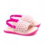 Sandália Fly Mini Bebê Feminino Pampili - Rosa bale/pink fluor