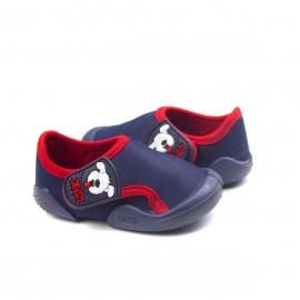 Tênis New Confort Bebê Masculino Klin - Marinho/vermelho