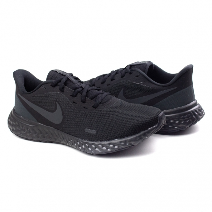 Tênis Revolution 5 Masculino Nike - Black/anthracite