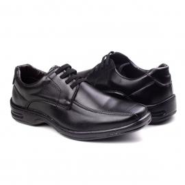 Sapato Amarrar Masculino Franshoes - Preto