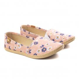Alpargatas Floral Feminino Moleca - Multi rosa