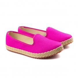 Alpargatas Tecido Feminino Moleca - Pink