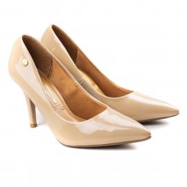 Sapato Scarpin Premium Feminino Vizzano - Bege