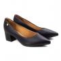 Sapato Salto Baixo Feminino Vizzano - Preto