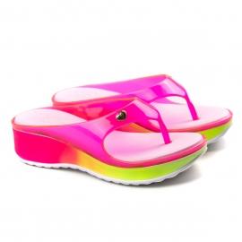 Tamanco Infantil Valentina Pontes Feminino Kidy - Pink/amarelo