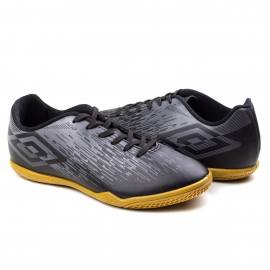 Tênis Indoor Acid Umbro - Preto/grafite