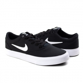 Tênis SB Charge Canvas Masculino Nike - Black/white