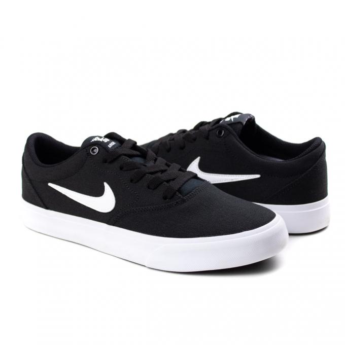 Tênis SB Charge Canvas Masculino Nike - Black/white