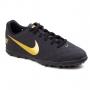 Chuteira Beco 2 TF Society Nike - Black/metallic gold-white
