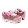 Tênis Leds Bebê Feminino Botinho - Rosa/pink
