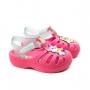 Sandália 44 Gatos Cutie Baby Unissex Grendene - Rosa/verde