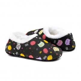 Pantufa Socks Fun Infantil Feminina Kidy - Preto