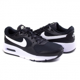 Tênis Air Max SC Feminino Nike - Black/white-black