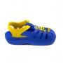 Sandália Baby Minions Hello Aranha Grendene - Azul/amarelo