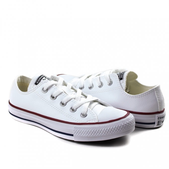 Tênis Courino Unissex All Star Converse - Branco