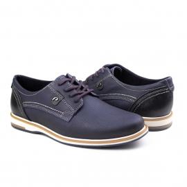 SapatoMasculino Pegada Esporte Pegada - Blue/preto